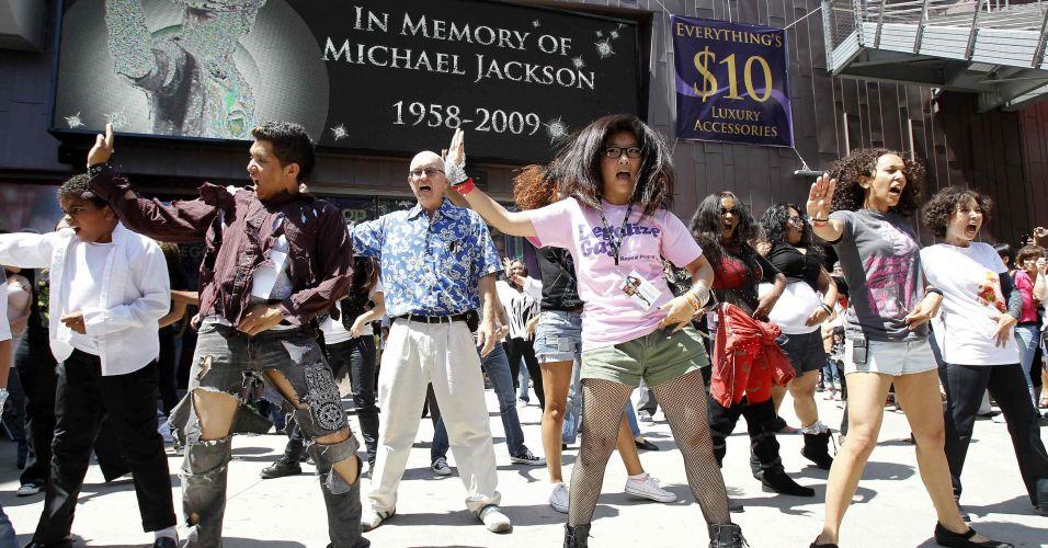 Homenagem a Michael Jackson