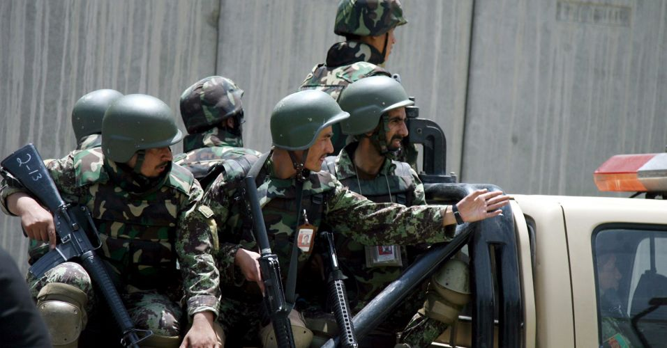 """""""Acidente"""" no Afeganistão"""
