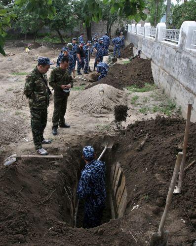 Exumação no Quirguistão