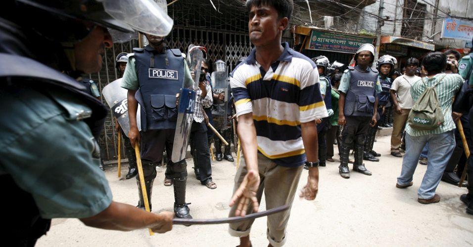 Confrontos em Bangladesh