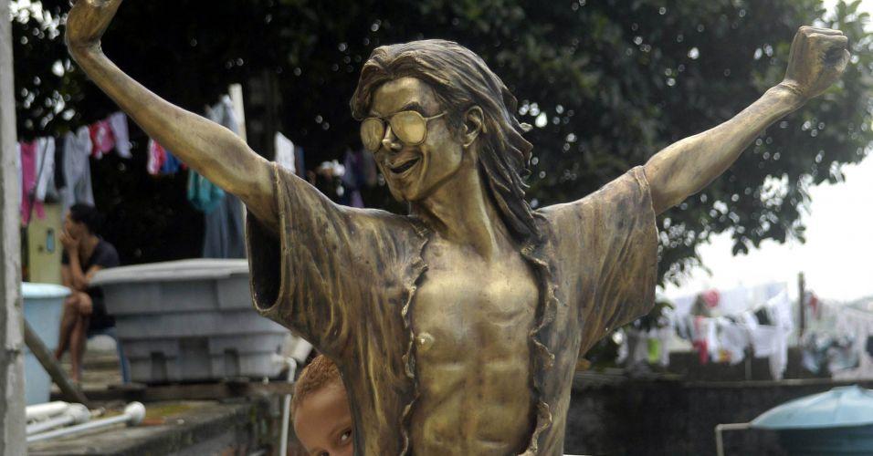 Michael Jackson no morro Dona Marta