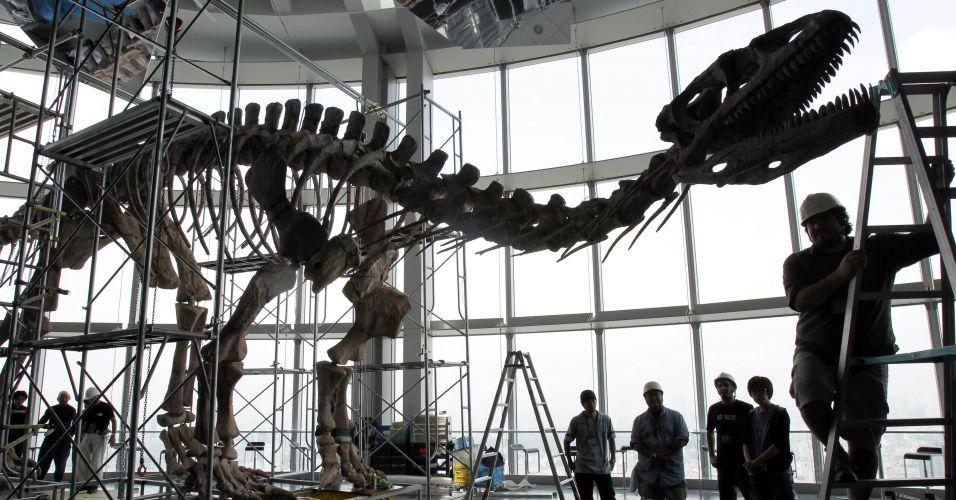 Dinossauro no Japão