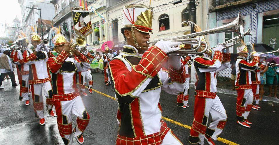 Desfile em Salvador