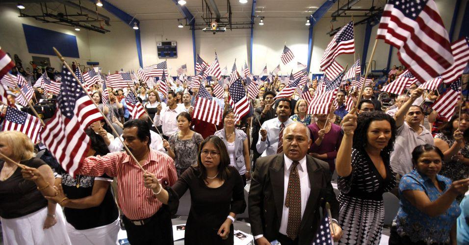 Cerimônia nos EUA