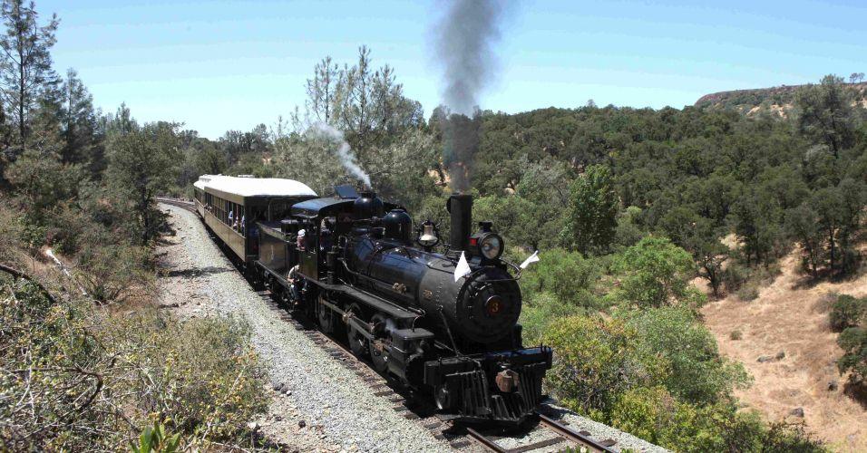 Trem na Califórnia