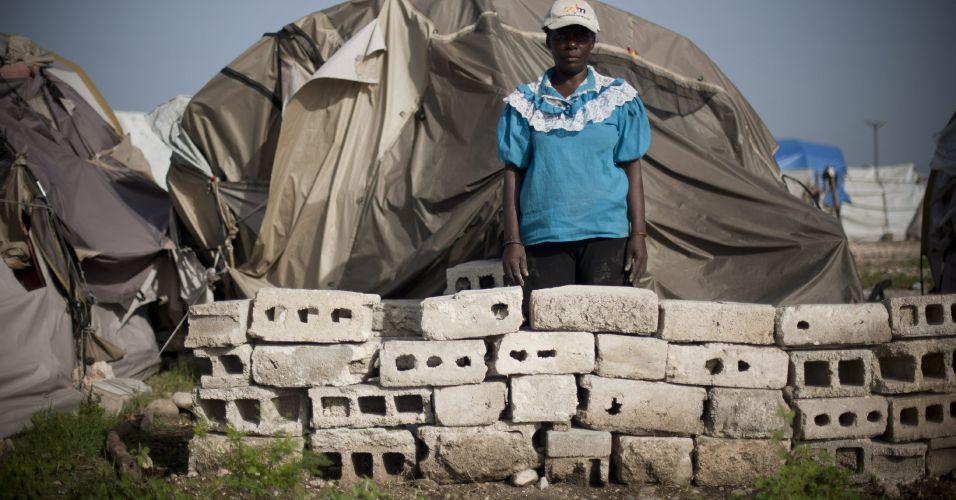 Tenda no Haiti