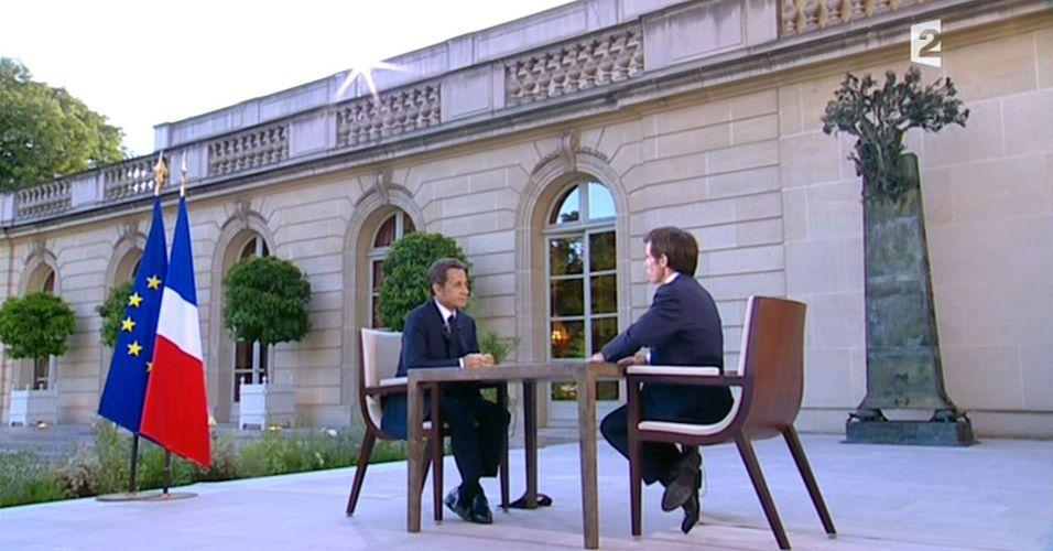 Sarkozy na TV