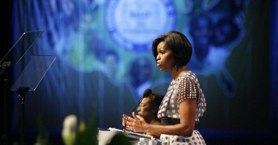 Michelle nos EUA