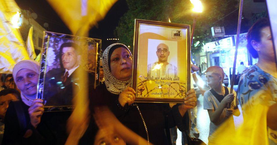 Protesto naCisjordânia