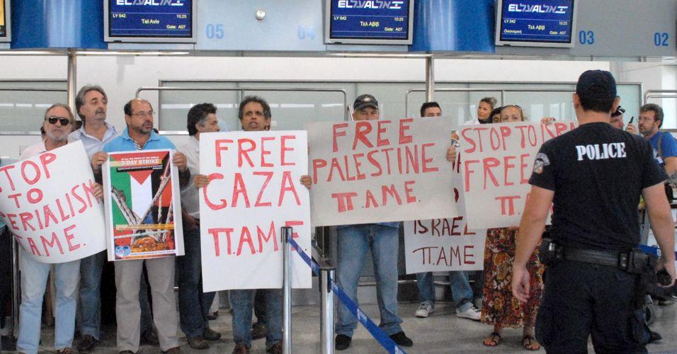 Protesto contra Israel
