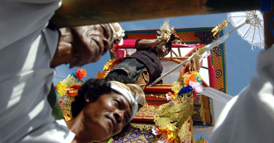 Cremação em Bali