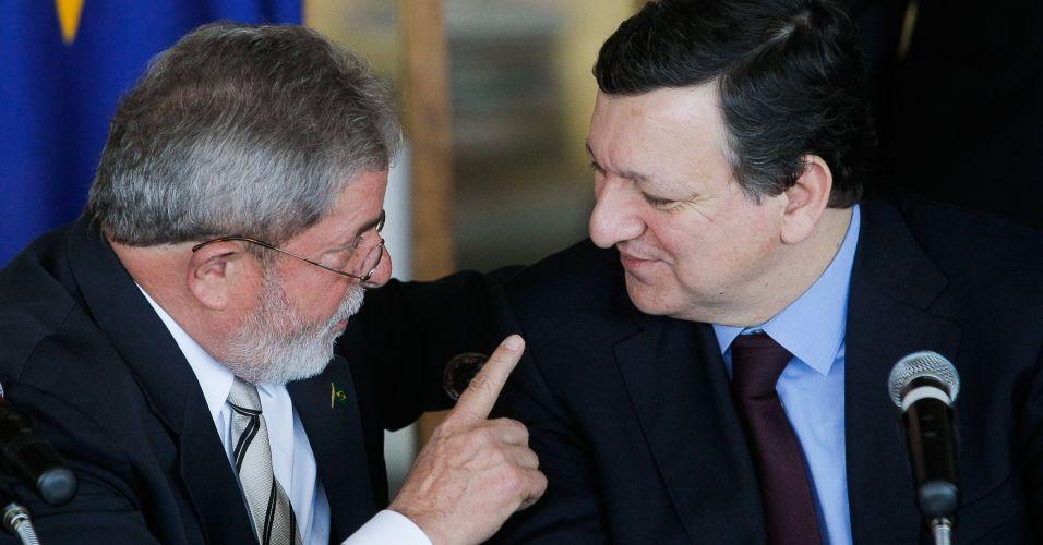 Lula e Barroso