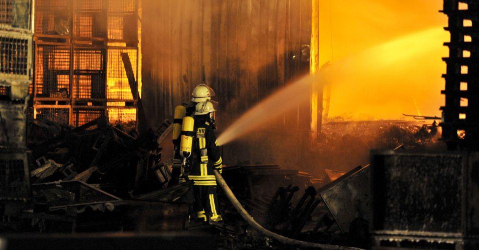 Incêndio na Alemanha