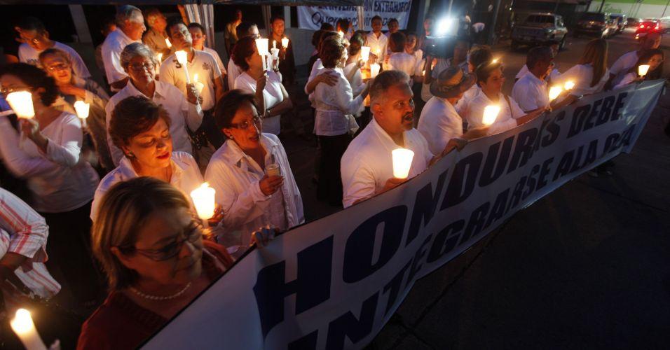Vigília em Honduras