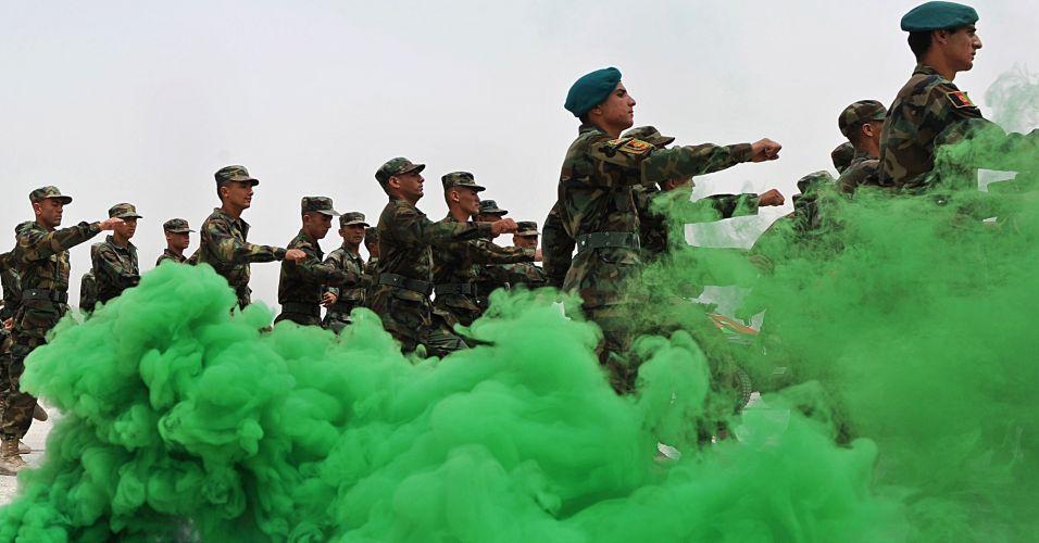 Soldados no Afeganistão