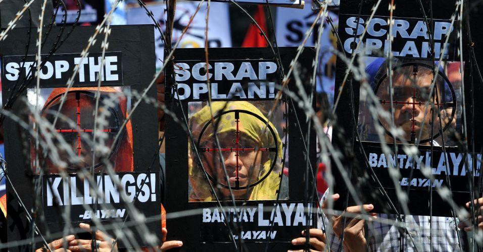 Manifestação contra o governo