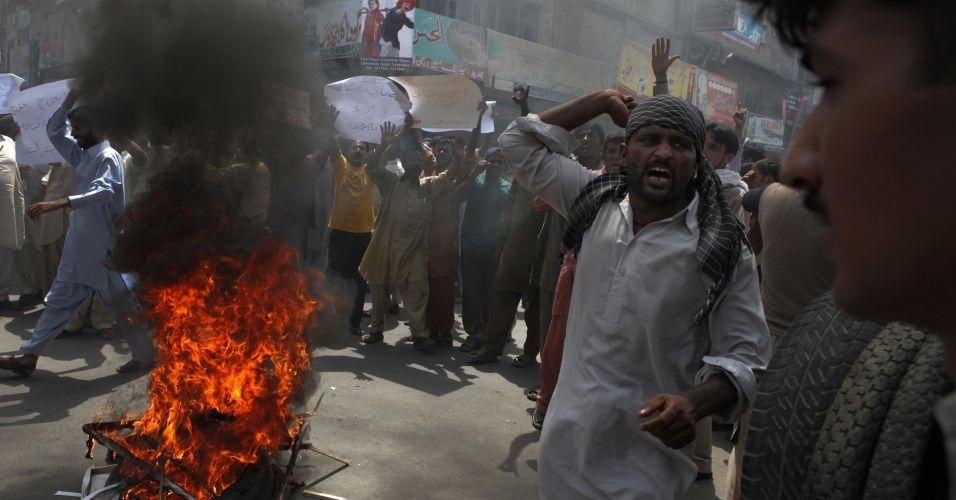 Atentado no Paquistão