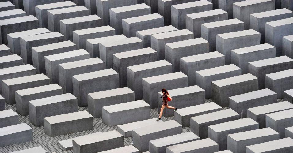 Jovem em Berlim