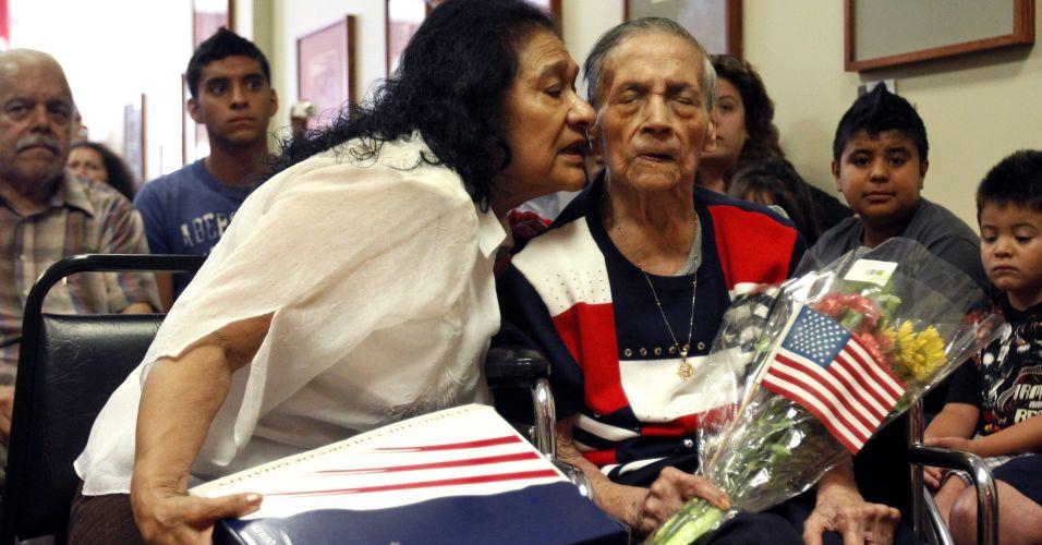 Norte-americana aos 106 anos