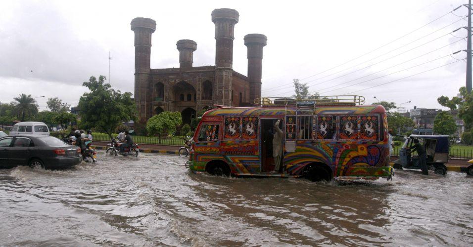 Enchente no Paquistão