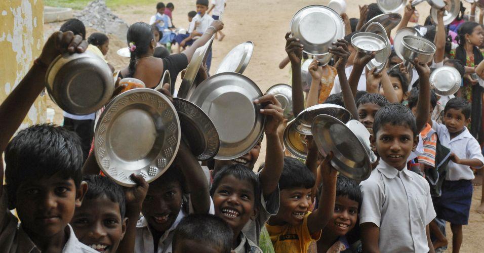 Alimentação na Índia