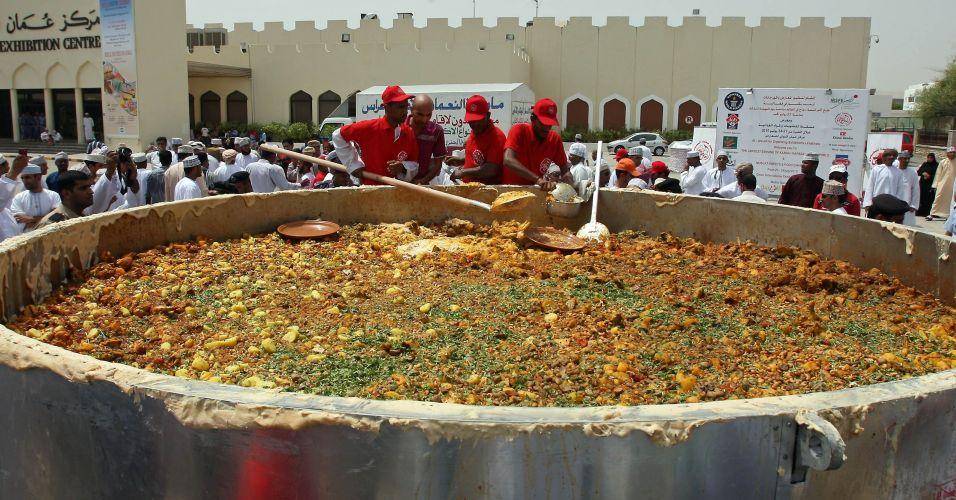 Recorde em Omã