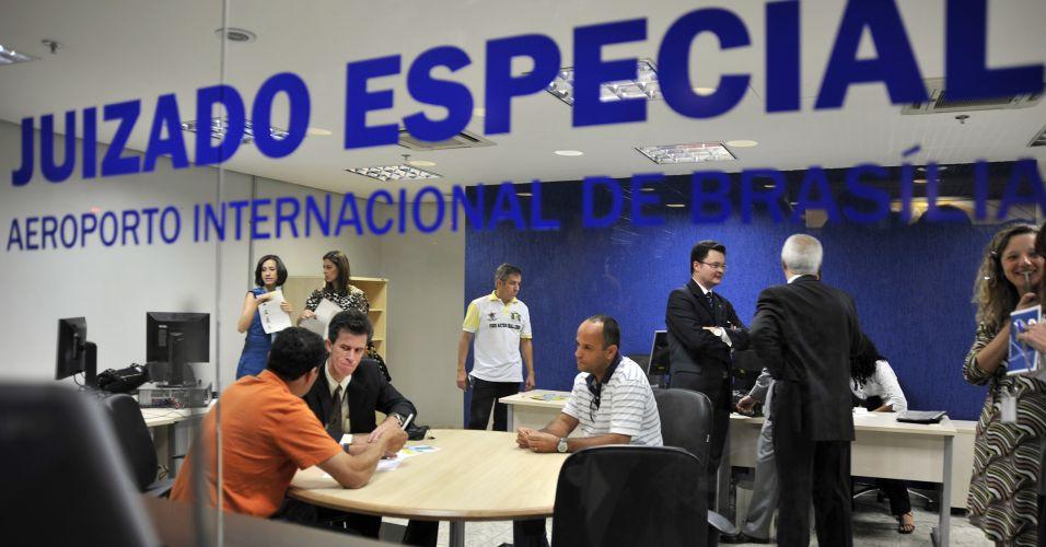 Juizados em aeroportos