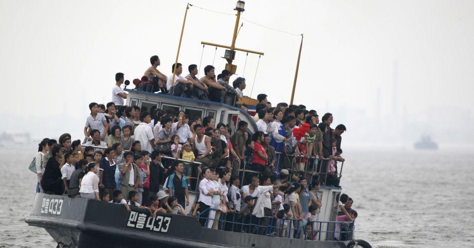 Barco na Coreia