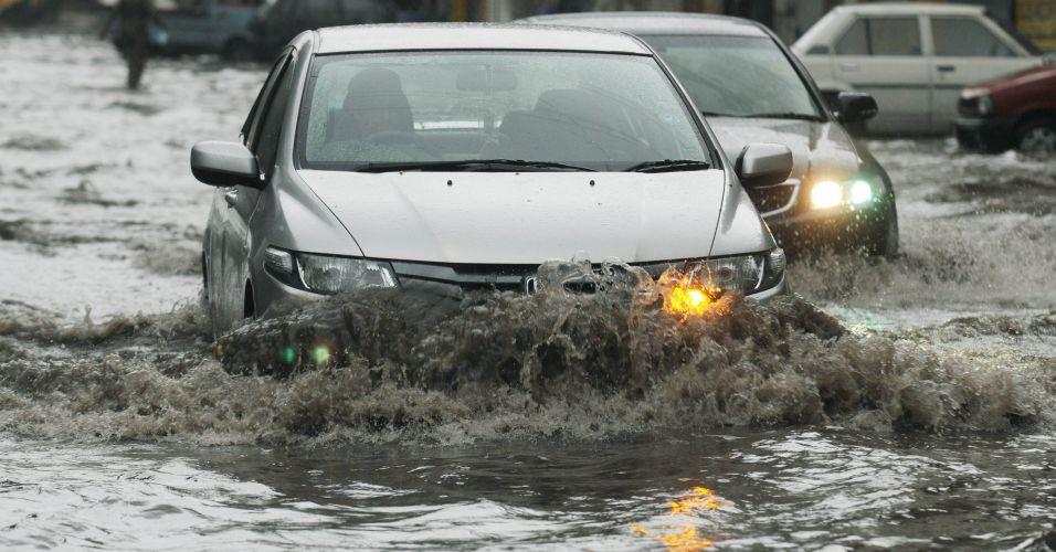 Chuva no Paquistão