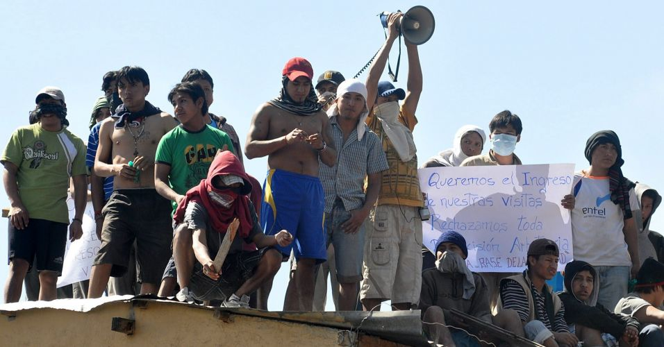 Protesto na Bolívia