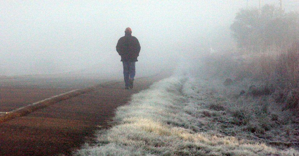 Frio em Bagé