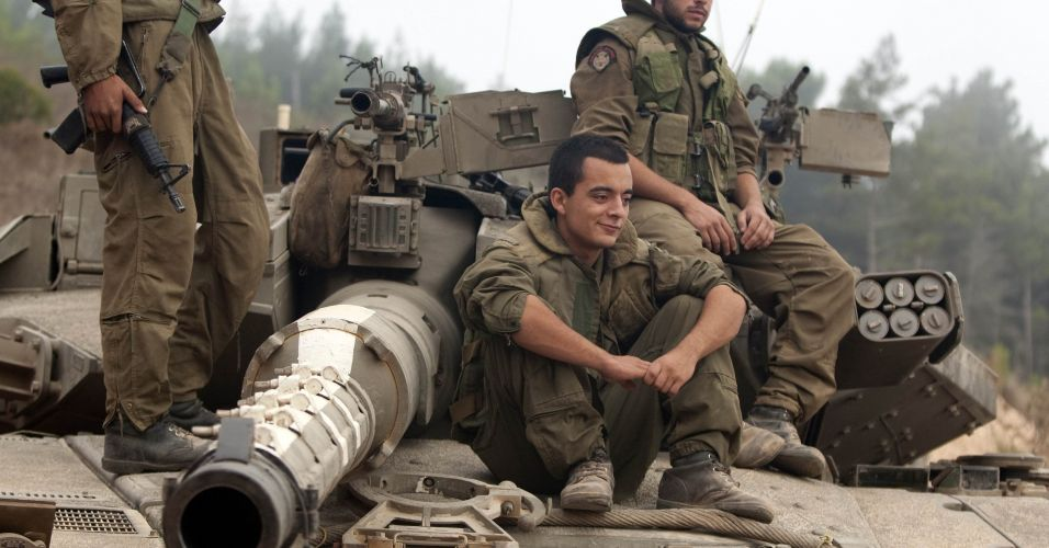 Soldados na fronteira