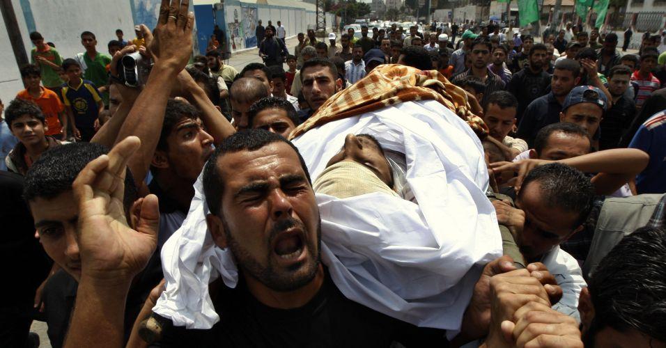 Ataque de Israel mata um palestino