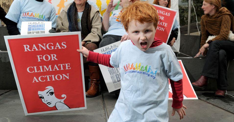 Protesto ambiental