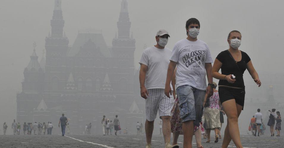 Fumaça na Rússia
