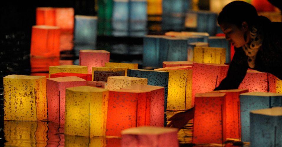 Lanternas em Hiroshima