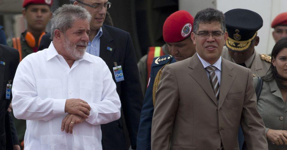 Lula em Caracas