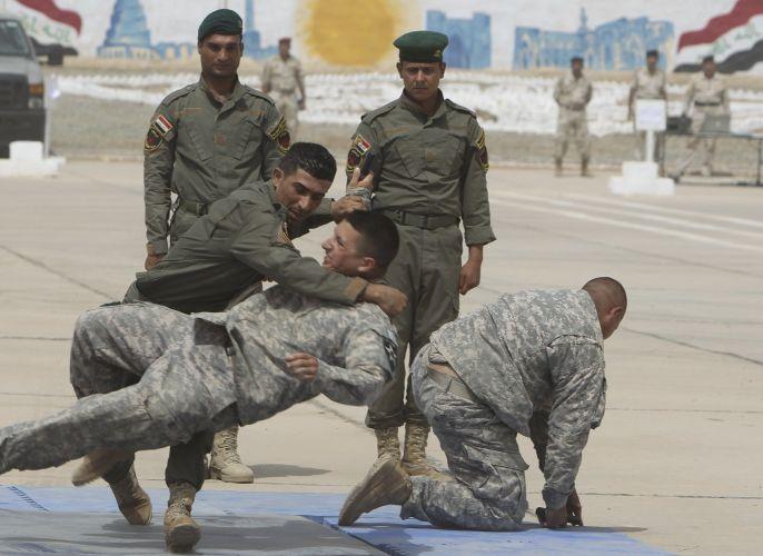 Tropas no Iraque