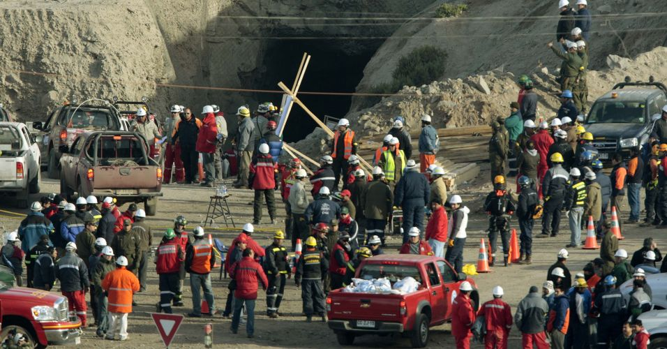 Resgate no Chile