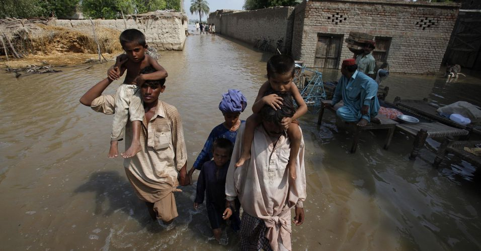Mau tempo no Paquistão