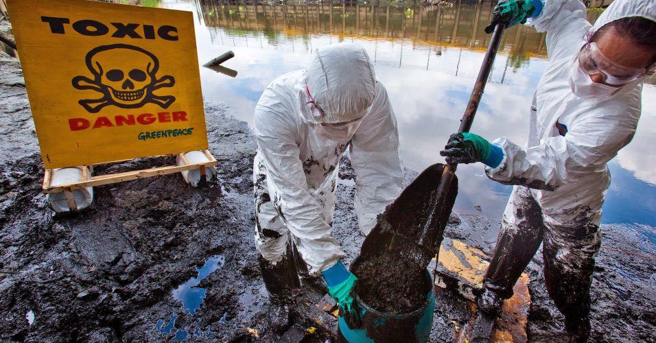 Contaminação na Tailândia
