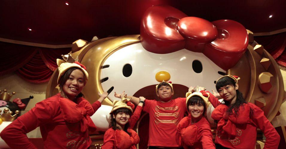 Hello Kitty em Hong Kong