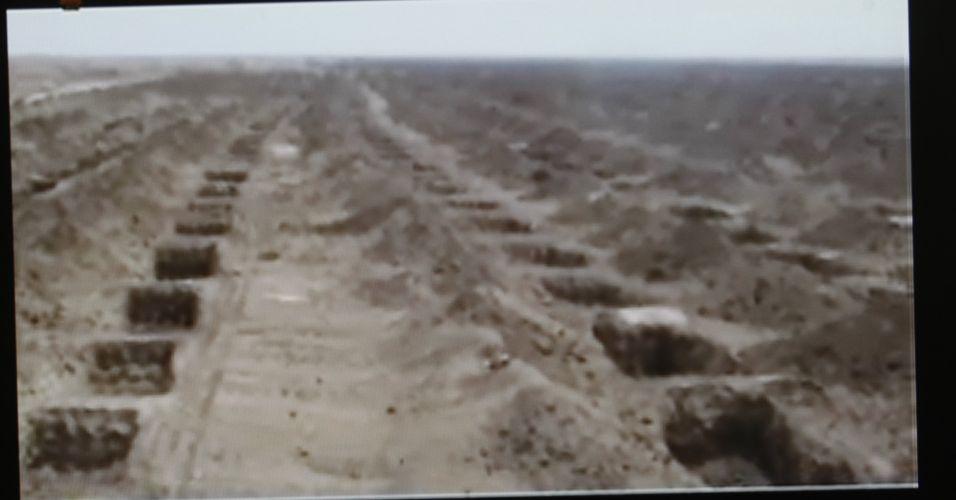 Supostas covas no Irã