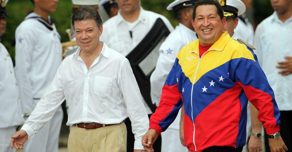 Santos e Chávez