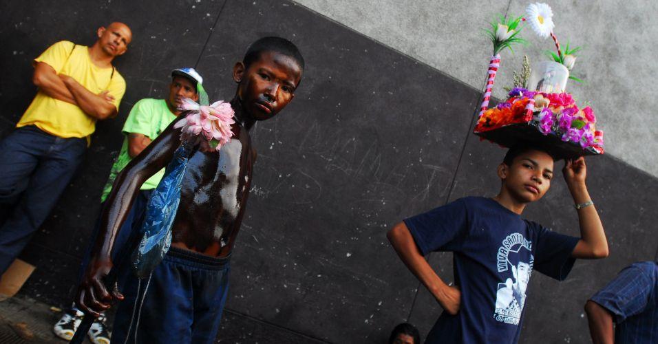 Meninos na Nicarágua