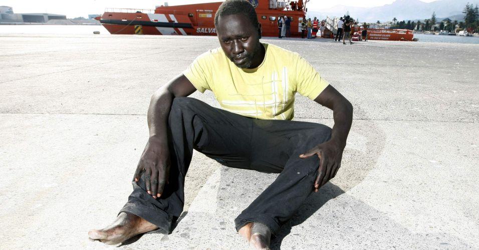 Imigrantes interceptados no mar