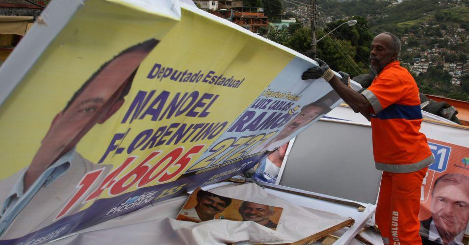 Propaganda irregular no Rio