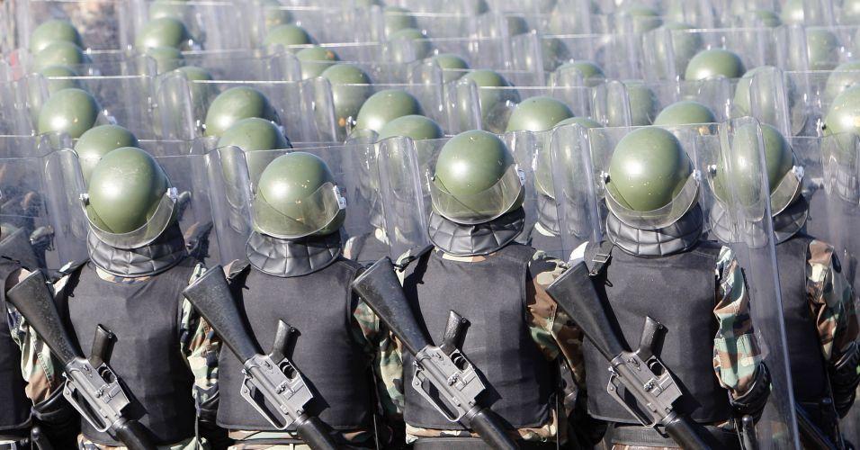 Soldados no Líbano