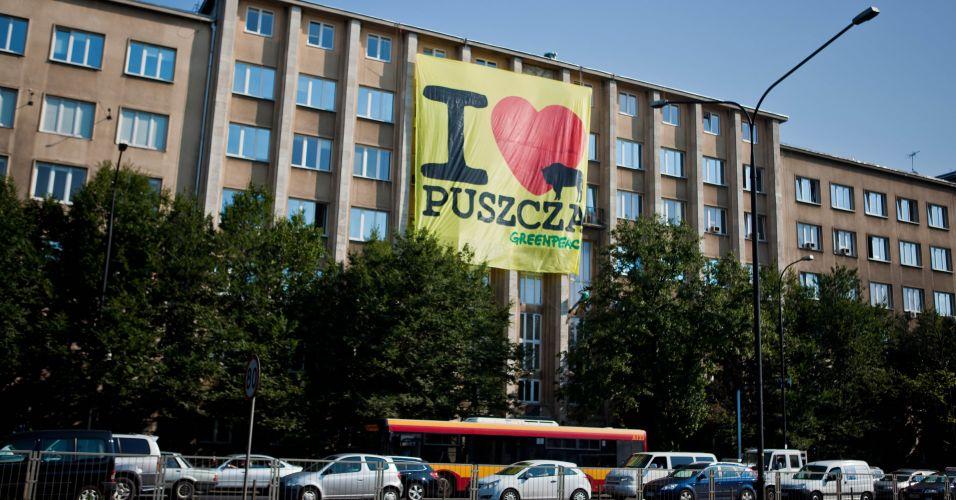 Protesto na Polônia
