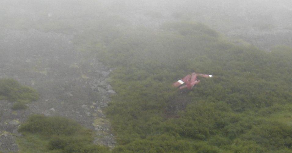 Acidente aéreo no Alasca